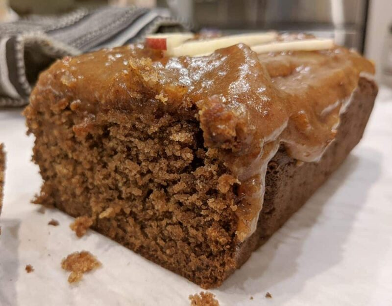 tigernut flour recipe for aip caramel apple bread