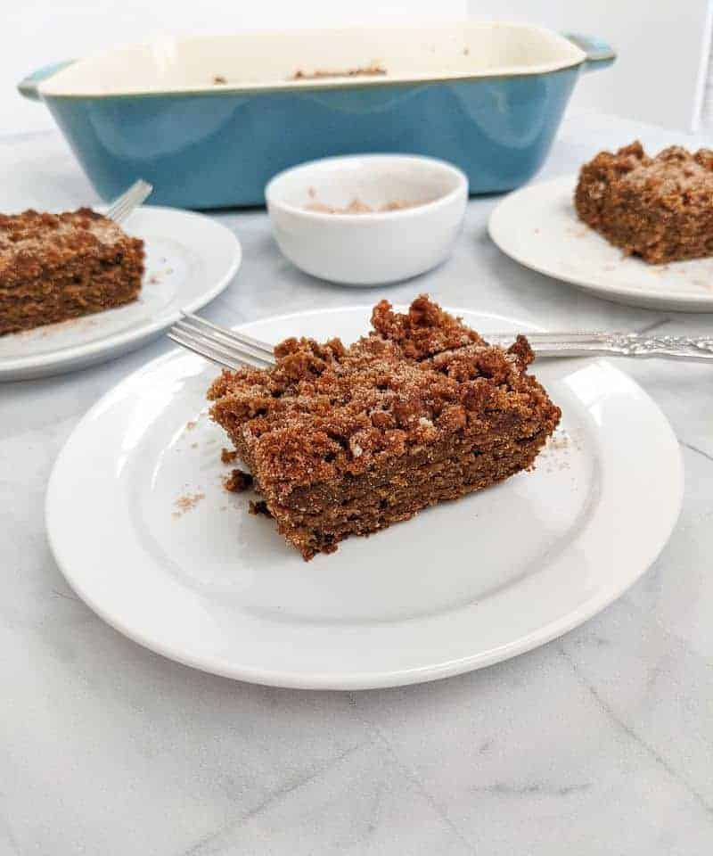 Easy Tigernut flour recipe: aip coffee cake