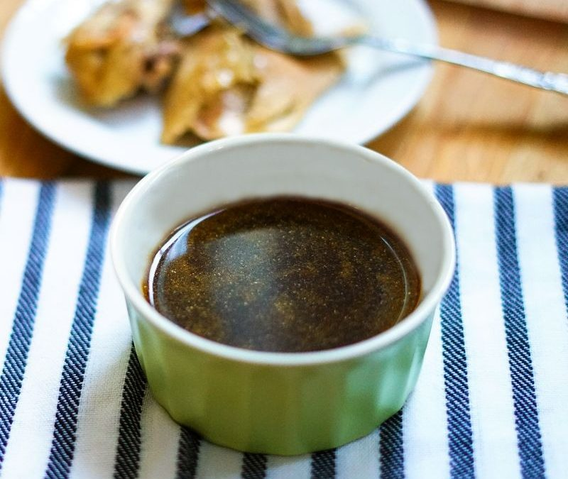 Simple Tangy Honey Garlic Dipping Sauce and Marinade (Paleo, AIP)