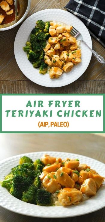 AIP paleo teriyaki chicken for air fryer