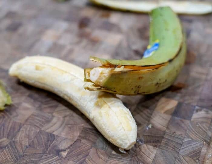 green plantains- great for AIP mashed potatoes